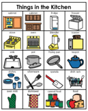 Category/Concept Boards - Things in the Kitchen