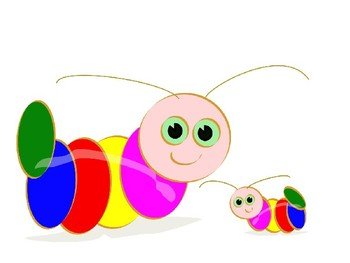 Caterpilla Clip Art Pack