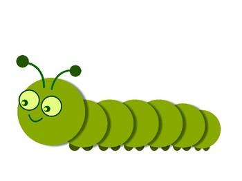 Caterpilla Clip Art Pack
