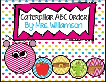Caterpillar ABC Order