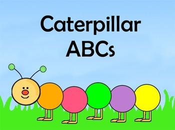Caterpillar ABCs Flipchart