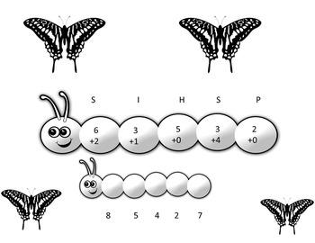 Caterpillar Adding to 10 Codes