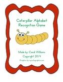 Caterpillar Alphabet Recognition Game for Kindergarten or