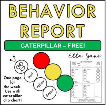 Caterpillar Behavior Report