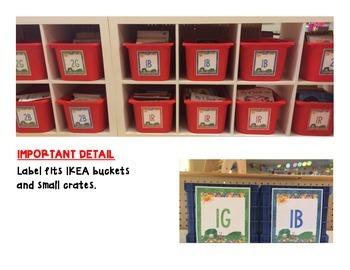Caterpillar Book Bucket Labels RTM-2Br