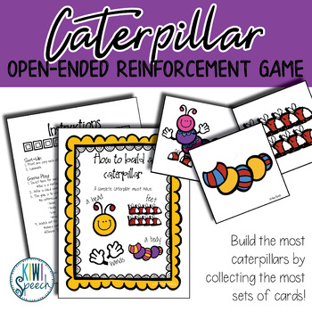 Caterpillar: Open Ended Reinforcement Game for Mixed Speech Therapy Groups