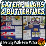 Caterpillar Centers Activities Spring Activities Literacy