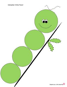 Caterpillar Circle Tracer
