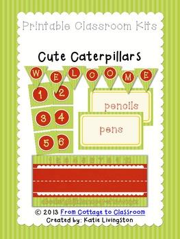 Caterpillar Classroom Kit