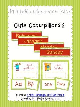 Caterpillar Classroom Kit Part 2