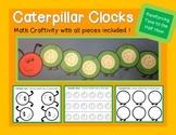 Caterpillar Clocks: Time to the Half Hour