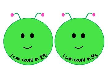 Caterpillar Counting: Curriculum Aligned