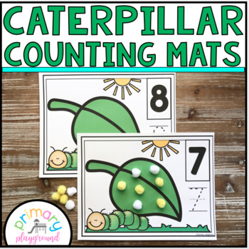 Caterpillar Counting Mats 1 - 20