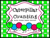 Caterpillar Counting and Number Practice- Great for Kinder!