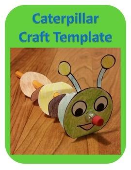 Caterpillar Craft Template