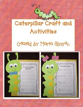 Caterpillar Craft and Activities
