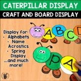 Caterpillar Craft - For Bulletin Boards