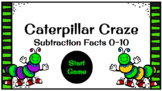 Caterpillar Craze Subtraction Fact Game for Google Slides