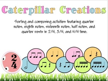 Caterpillar Creations: 11 Sorting and Composing Activities for Spring!