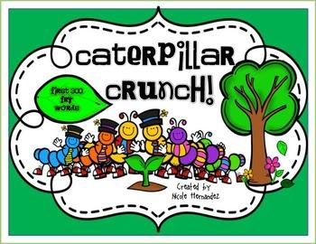 Fry Words - Caterpillar Crunch {Fry's First 100 Words}