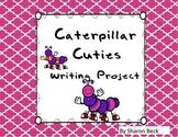 Caterpillar Cutie Bulletin Board Art and Simile Writing Project