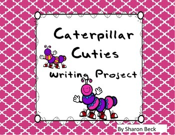 Caterpillar Cutie Bulletin Board Art and Simile Writing Project