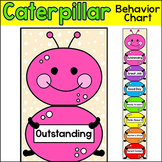 Behavior Clip Chart - Rainbow Caterpillar Classroom Decoration
