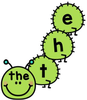 Caterpillar Editable Sight Word Activity