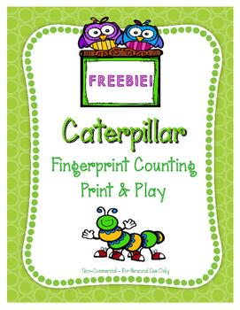 Caterpillar Fingerprint Counting