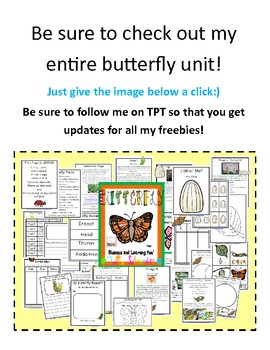 Caterpillar Freebie
