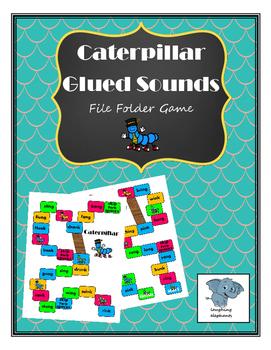 Caterpillar Glued/Welded Sounds File Folder Game