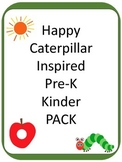 Caterpillar Inspired PreK and Kinder Pack 200+ PAGES and GAMES