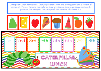 Caterpillar Lunch Ordinal Game