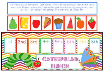 Caterpillar Lunch Ordinal Game