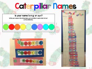 Caterpillar Name Measurement Short and Long