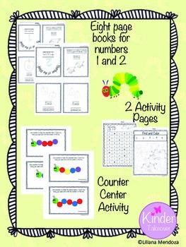 Caterpillar Number Counting Set 1-5