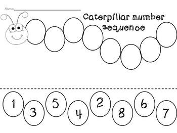 Caterpillar Number Sequencing