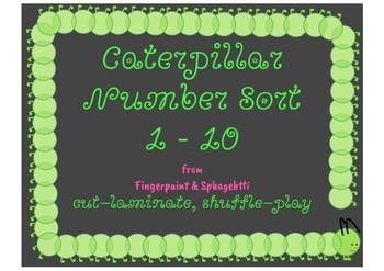 Caterpillar Number Sort 1-10