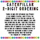 Caterpillar Ordering- 2-digit Numbers