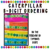 Caterpillar Ordering- 3-digit Numbers