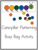 Caterpillar Patterning Busy Bag Activity