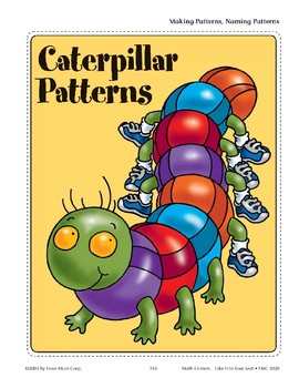 Caterpillar Patterns (Making & Naming Patterns)