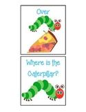 Caterpillar Prepositions - Houghton Mifflin Preschool Theme