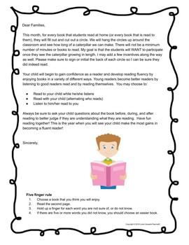 Caterpillar Reading: A Fun Reading Incentive