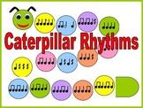 Caterpillar Rhythms Bulletin Board Kit or Workstation/Center for Music Class