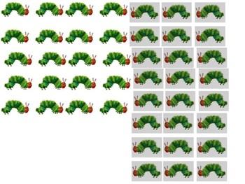 Caterpillar Sight Word Race