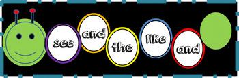 Caterpillar Sight Word Reader