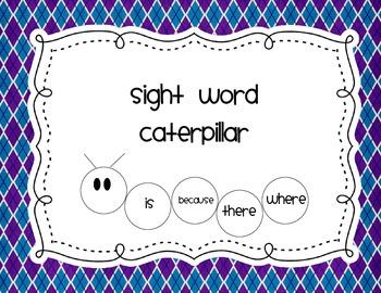 Sight Words Caterpillar