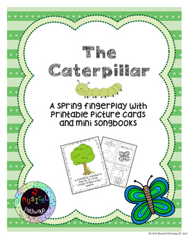 Caterpillar Spring Fingerplay