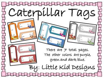Caterpillar Tags